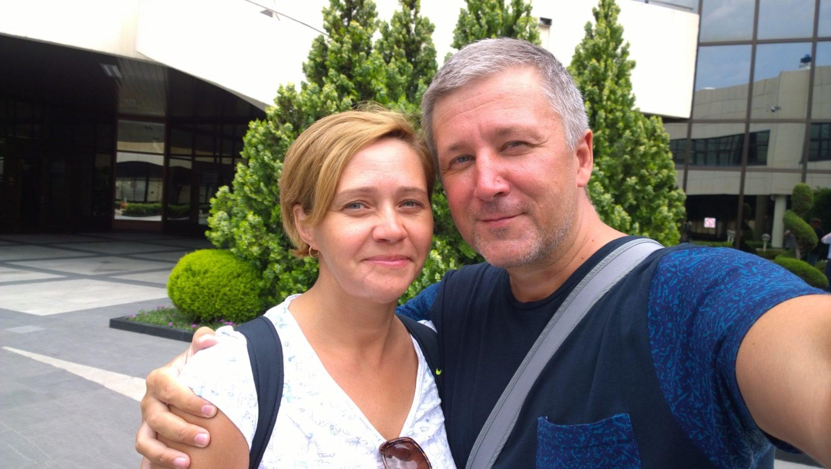 Татьяна и Сергей Дубровских