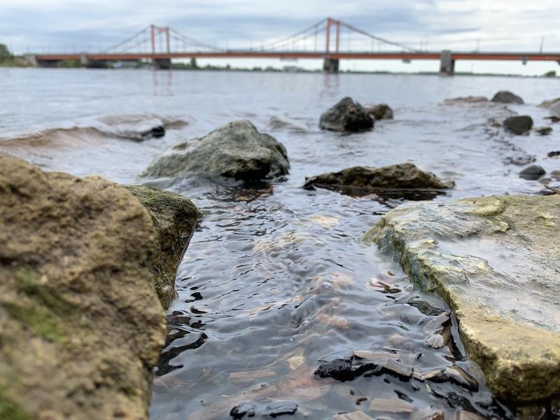 мост через Северную Двину
