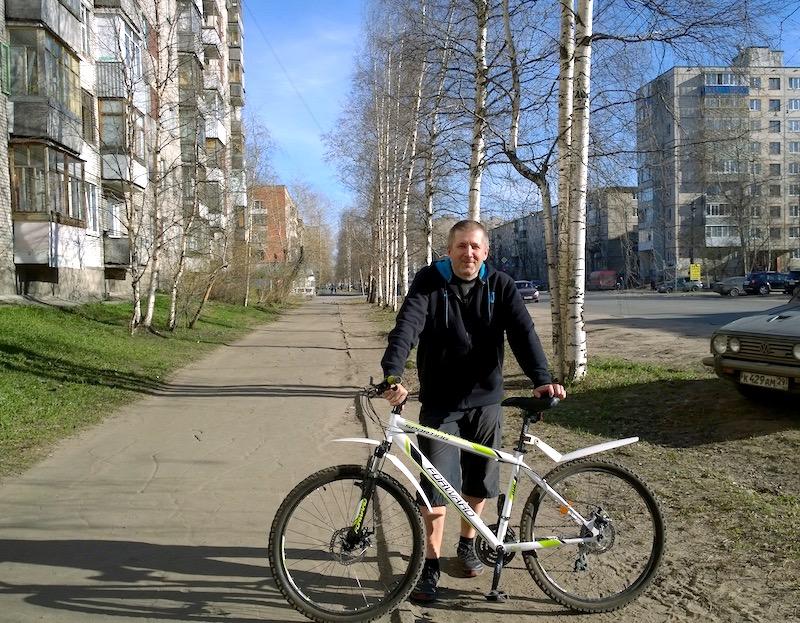 Велосипед Серёжи